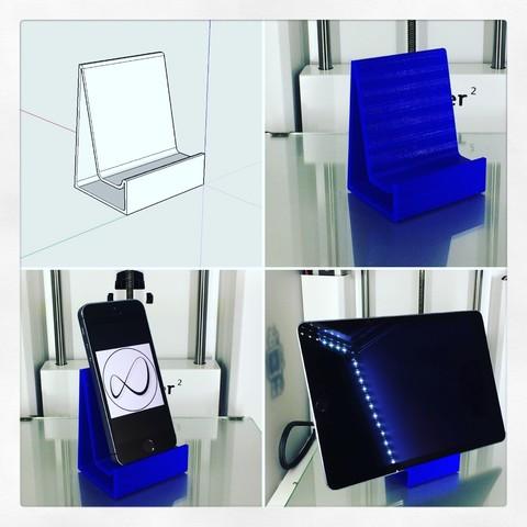 Télécharger fichier imprimante 3D gratuit Support universel pour téléphone portable et Tablette, OTTO3D