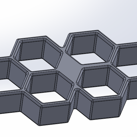 Capture2.PNG Download STL file Fist americain hexagonal • 3D printable object, younique2097