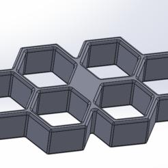 Télécharger fichier 3D poing americain hexagonale, younique2097