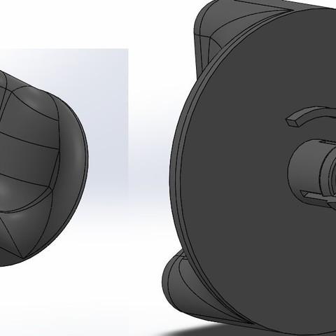 Download STL file twingo button • Model to 3D print, younique2097