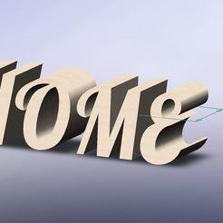 home lobster.JPG Télécharger fichier STL Lettre home Lobster • Design pour impression 3D, younique2097