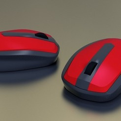 Download free 3D printer designs mouse, kimjh