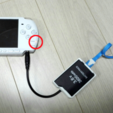 Download free STL psp 2000/3000 charger and battery holder, kimjh