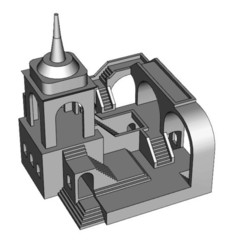 Download free 3D printer model Unknown Castle, kimjh