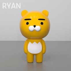 Free 3D printer files RYAN kakao friends, kimjh