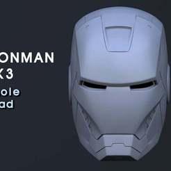 11.jpg Download free STL file IRON MAN MK HEAD(unwearable) • 3D printing object, kimjh