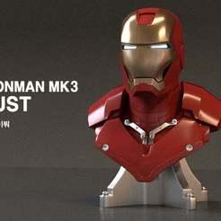 Télécharger fichier STL gratuit Buste de l'homme de fer MK3 (grandeur nature) • Objet imprimable en 3D, kimjh