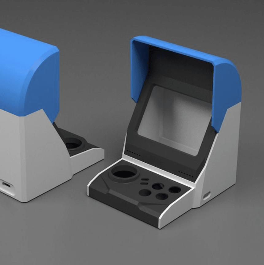 Capture d'écran 2018-05-10 à 10.40.50.png Download free STL file game machine • 3D printing design, kimjh