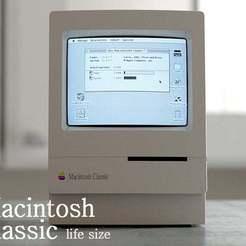 Télécharger fichier STL gratuit macintosh classic housing (grandeur nature) • Objet pour imprimante 3D, kimjh