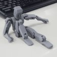 Download free 3D printer model figure no support, kimjh