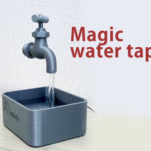 Download free STL files Magic water tap, kimjh