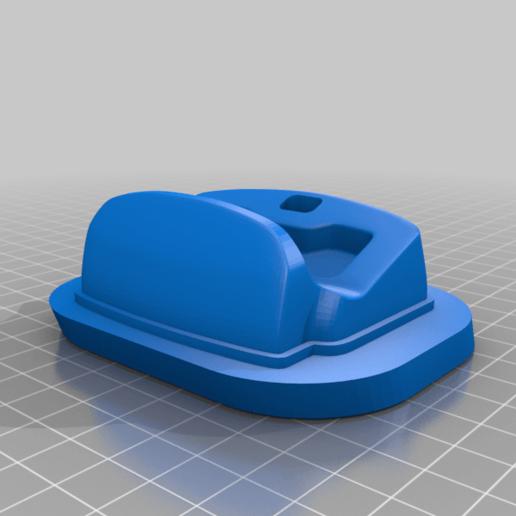 dsc-1slot.png Télécharger fichier STL gratuit Berceau à double choc 4 • Design imprimable en 3D, kimjh