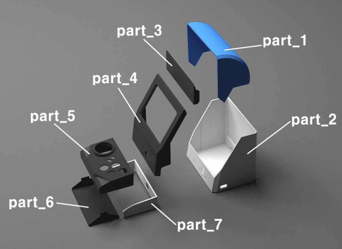 Capture d'écran 2018-05-10 à 10.40.57.png Download free STL file game machine • 3D printing design, kimjh