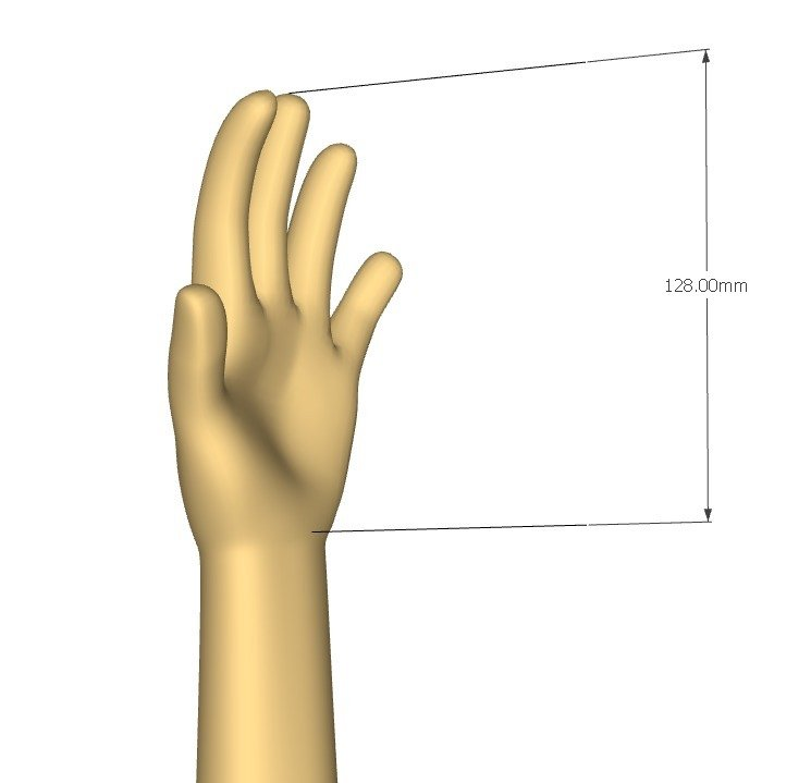 63dead8308a611310ddb753f9a356684_display_large.jpg Download free STL file Gauntlet for kids • Template to 3D print, kimjh