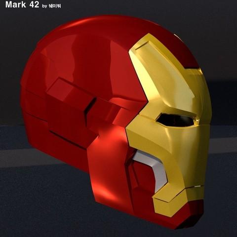 b52b4a44502df96c43baac6de7b78f27_display_large.jpg Download free STL file IRON MAN Mark 42 • 3D print design, kimjh