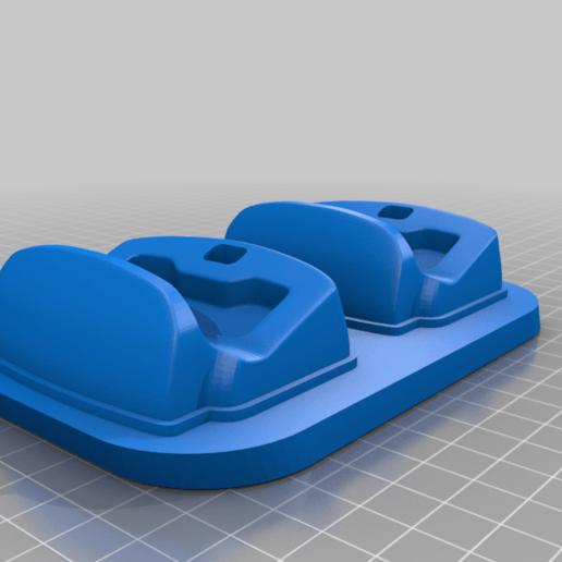 dsc-2slots.png Télécharger fichier STL gratuit Berceau à double choc 4 • Design imprimable en 3D, kimjh