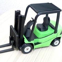 Télécharger plan imprimante 3D gatuit chariot_élévateur, kimjh