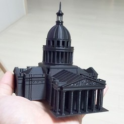 Download free STL file pantheon • 3D printer model, kimjh