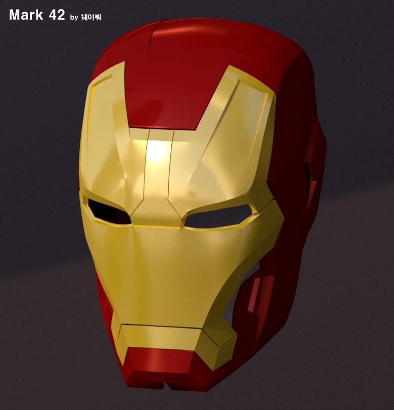 b037a8f3bbb16d7a64f164ed1e5d0e75_display_large.jpg Download free STL file IRON MAN Mark 42 • 3D print design, kimjh