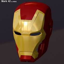 Download free STL file IRON MAN Mark 42 • 3D print design, kimjh