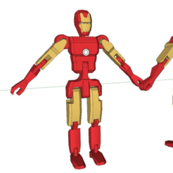 Download free 3D print files figure - ironman Ver, kimjh