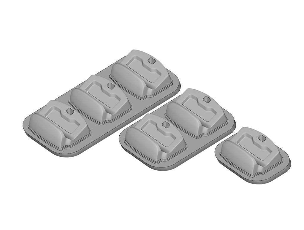 5.jpg Télécharger fichier STL gratuit Berceau à double choc 4 • Design imprimable en 3D, kimjh