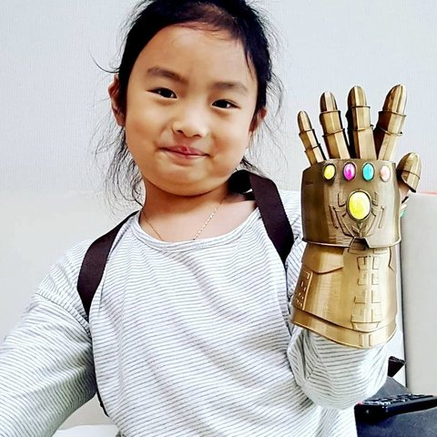 Free 3D print files Gauntlet for kids, kimjh