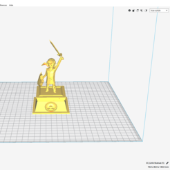 3D print files Link Zelda, flowerpower