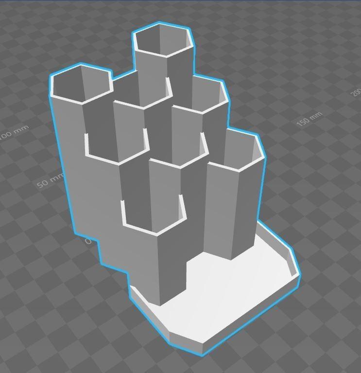 Capture.JPG Download STL file Pencil holder pen honey • 3D printing design, Aldebaran