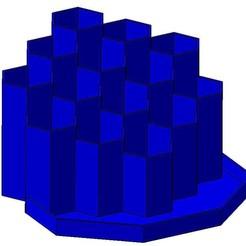 HEXA V02 01.jpg Télécharger fichier STL porte crayon pen holder • Design à imprimer en 3D, Aldebaran