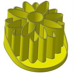 FLOWER V02 ter.jpg Télécharger fichier STL Porte crayon pen holder • Design à imprimer en 3D, Aldebaran