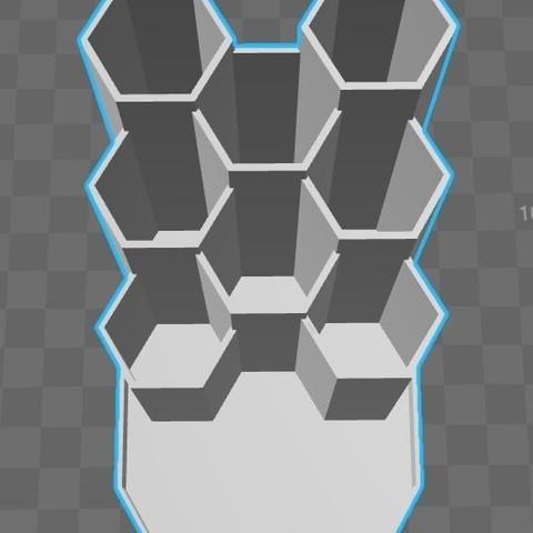 Capture2.JPG Download STL file Pencil holder pen honey • 3D printing design, Aldebaran