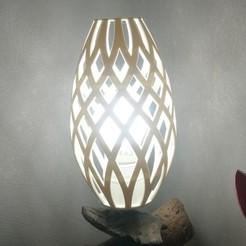 3D printer models Foot lamp shade, Aldebaran