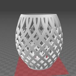 Capture.JPG Télécharger fichier STL Photophore porte bougie • Objet pour imprimante 3D, Aldebaran