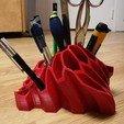 Télécharger fichier 3D gratuit Porte Stylo et Crayon, Aldebaran