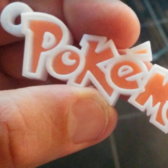Download free STL file pokemon keychain • 3D printing object, cyrus