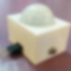 Free CASE for HC-SR501 Passive Infrared Sensor PIR STL file, cyrus