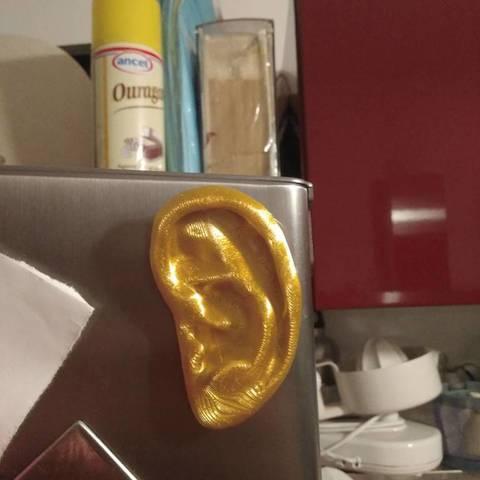 Télécharger fichier STL gratuit Aimant en forme d'oreille • Objet pour imprimante 3D, cyrus