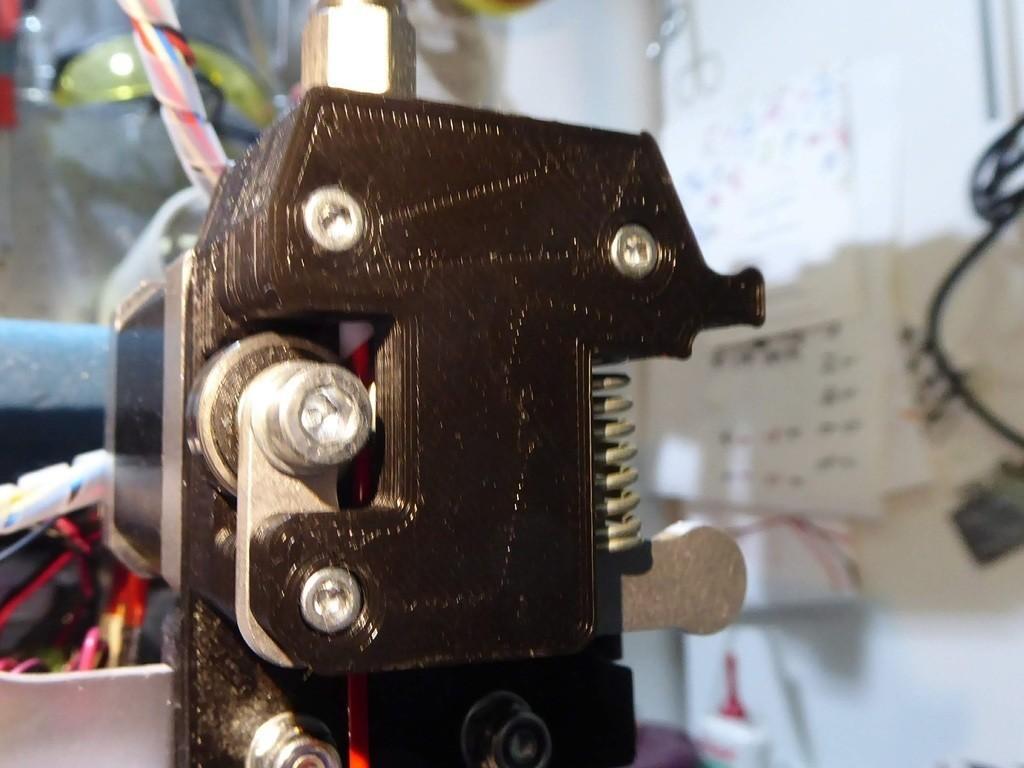 87156f8ac74c695da5efd88bce8a0141_display_large.jpg Télécharger fichier STL gratuit Amélioration de l'extrudeuse Velleman vertex3d K8400 - pointe bowden • Modèle pour impression 3D, cyrus