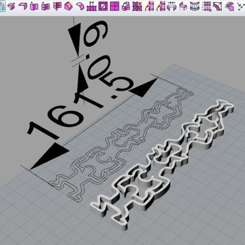 508652cf0a4122a124aab937f6c7be1e_preview_featured.jpg Download free STL file keith haring stand • 3D printable design, cyrus