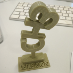 Download free 3D printer files Metile Ignoto, cyrus