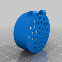 BOTTOM_peforated.png Download free STL file Cover for the ÖRTFYLLD Spice jar • 3D printer design, cyrus