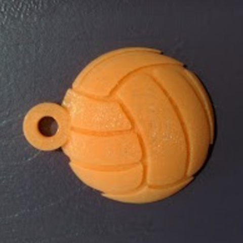 Free 3D printer file volleyball keychain, cyrus