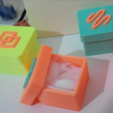 Free small boxes with coloured insert 3D printer file, cyrus