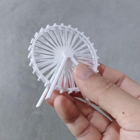 3D printer files The Singapore Flyer (Singapore), JimmyPhua