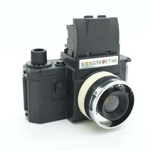 DSCF7281.jpg Download free STL file Diana Lens adaptor for Konstruktor camera • 3D printer object, JimmyPhua