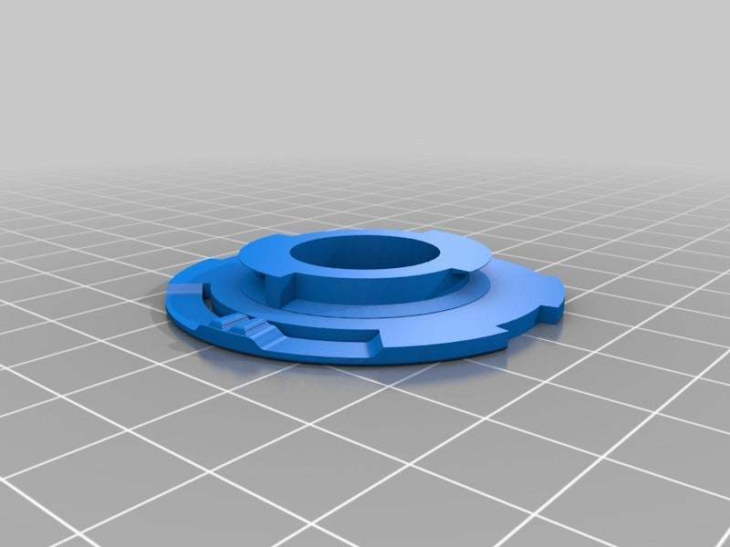Back_Cap_Final.jpg Download free STL file Diana Lens adaptor for Konstruktor camera • 3D printer object, JimmyPhua