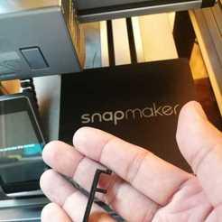 Télécharger fichier imprimante 3D gratuit Clips LED pour le snapmaker, JimmyPhua