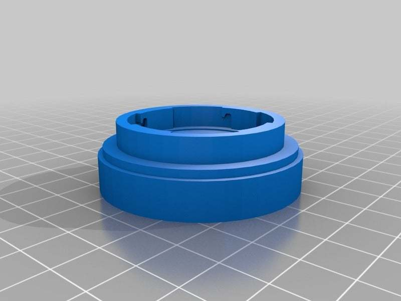 diana_konstruktor_v4.jpg Download free STL file Diana Lens adaptor for Konstruktor camera • 3D printer object, JimmyPhua