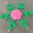 Capture d'écran 2016-12-14 à 15.39.50.png Télécharger fichier STL gratuit Rose Snowflake • Modèle à imprimer en 3D, Vexelius